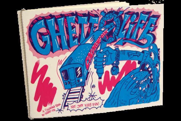 "Livre de coloriage ""Ghettolife"""
