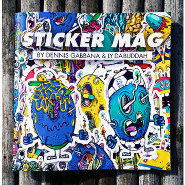 STICKER MAG by Dennis Gabbana & Ly Da Buddah