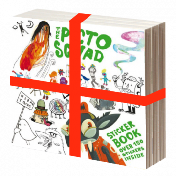 Klebstoff Bundle #7 + #8 + Pictoplasma Special