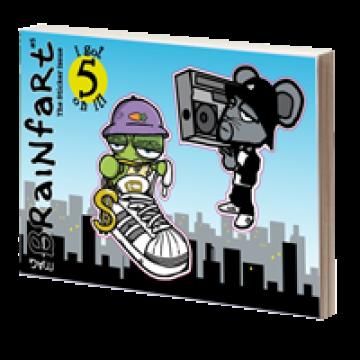 Brainfart Sticker Book XL
