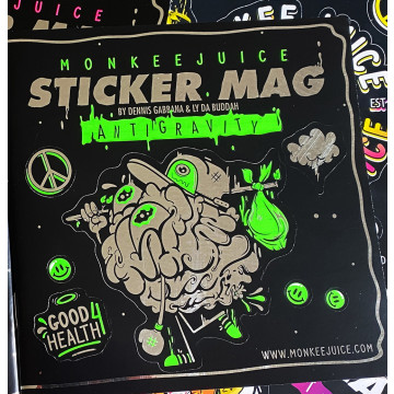 Monkeejuice STICKERMAG Vol. 2 - GREEN Edition