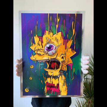 Lisa Magic Chrome Print