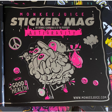 Monkeejuice STICKERMAG Vol. 2 - PINK Edition