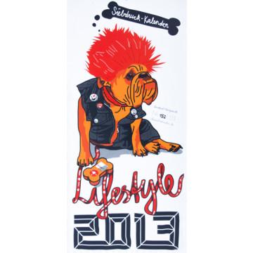 Calendrier sérigraphié en 2013 : Life et Style