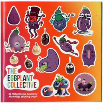 The Eggplant Collective Stickermag
