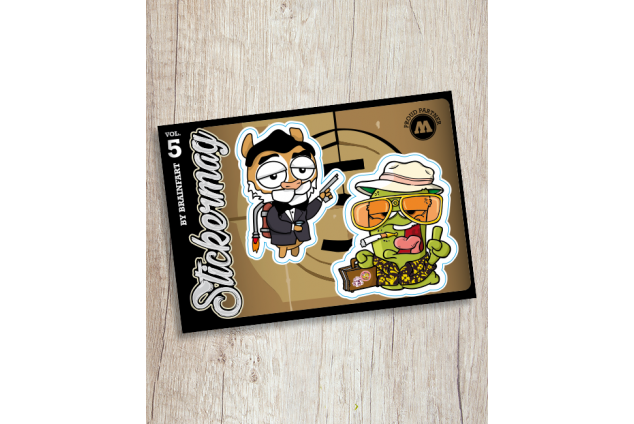 Brainfart Stickermag XL - Vol. 5