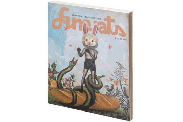 Finerats #2 – Illustration Magazine