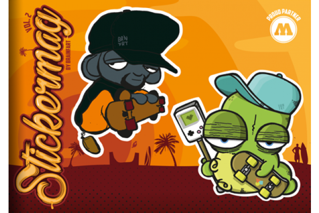 Brainfart Stickermag XL - Vol. 2