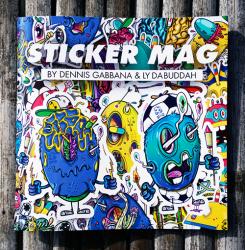 Stickermag-Bundle KLEBSTOFF #10 + EGGPLANT + STICKER MAG by Gabbana & Lyde