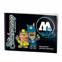 MOLOTOW 25 YEARS Stickermag by BRAINFART