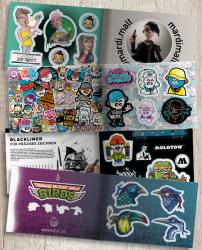 Brainfart Stickermag XL - Vol. 5