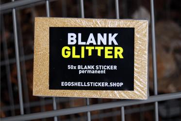 BLANKO-STICKERPACK AUF GOLD-FOLIE