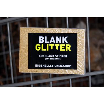 XL-BLANKO-STICKERPACK AUF GOLD-FOLIE