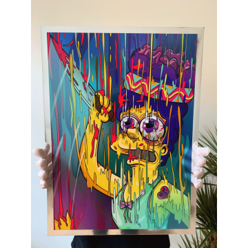 Marge Magic Chrome Print