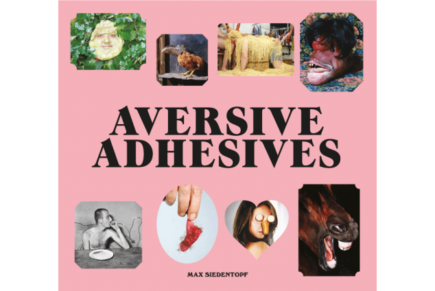 "PHOTO-STICKERBOOK ""Aversive Adhesives"" by Max Siedentopf"