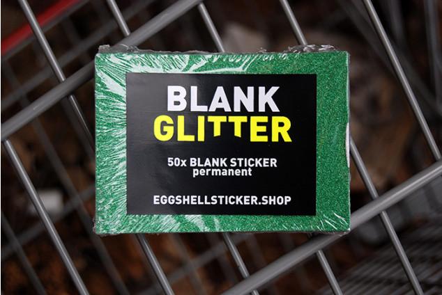 XL-BLANKO-STICKERPACK AUF GRÜNER FOLIE